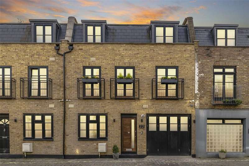 3 Bedrooms Mews House for sale in Chippenham Mews, London, W9