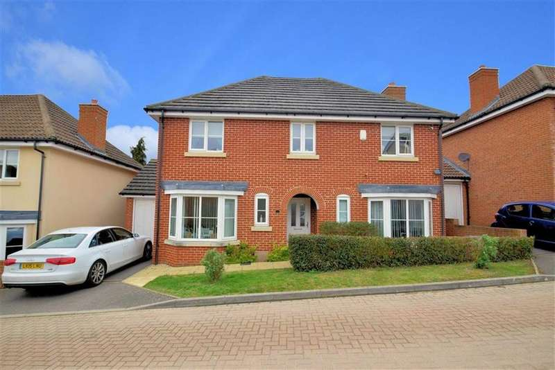 4 Bedrooms Detached House for sale in Montfort Gate, Caversham, Reading