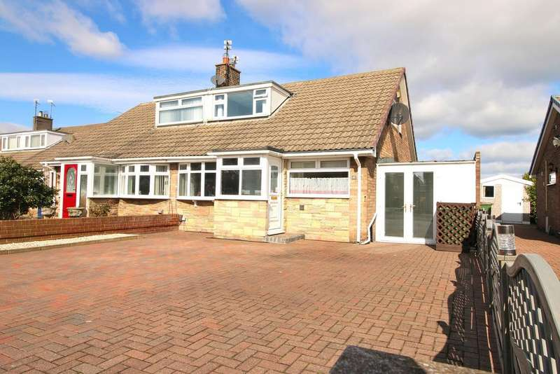 2 Bedrooms Semi Detached Bungalow for sale in Greencroft