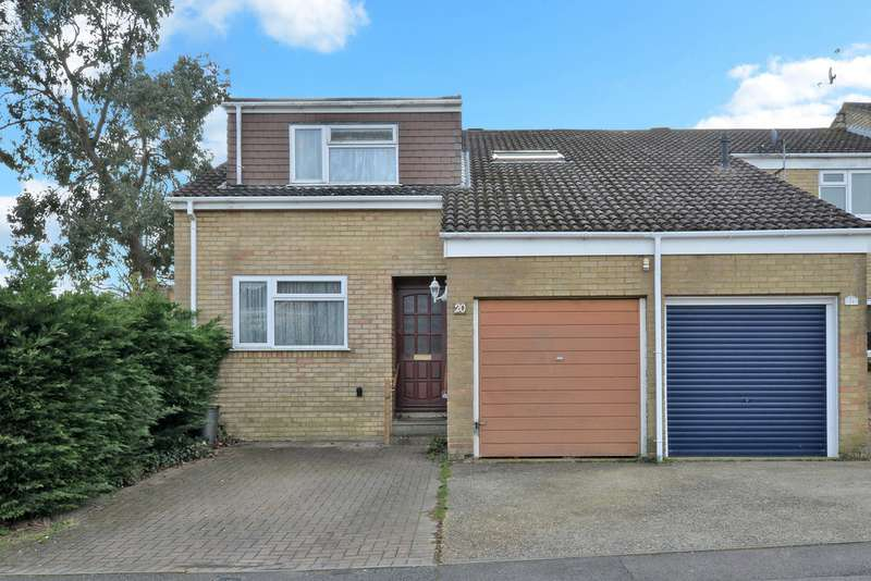 4 Bedrooms Semi Detached House for sale in Liscombe, Bracknell RG12