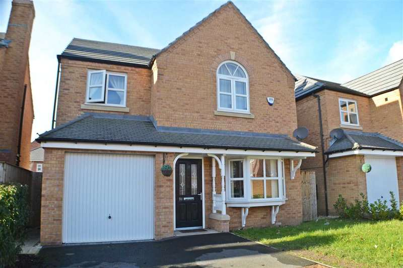 4 Bedrooms Detached House for sale in Edgewater Place, Latchford, Warrington
