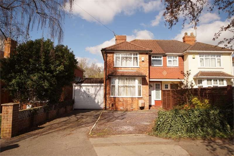 3 Bedrooms Semi Detached House for sale in Stanhope Road, READING, Berkshire