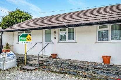 1 Bedroom Bungalow for sale in Atlantic Road, Delabole, Cornwall