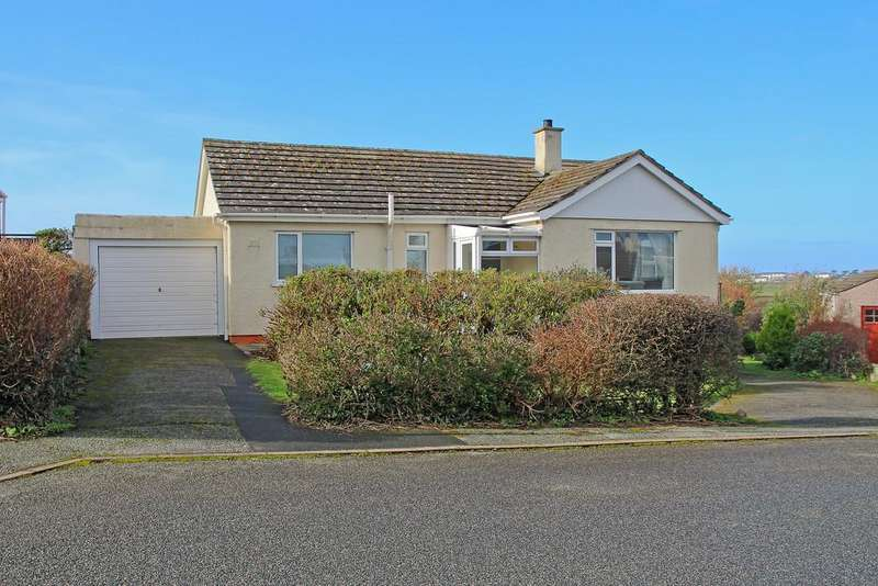 3 Bedrooms Detached Bungalow for sale in Rehoboth Estate, Llanfaelog, North Wales