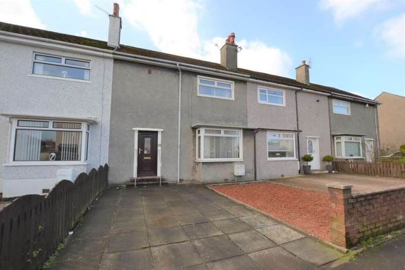 3 Bedrooms Terraced House for sale in Stewart Drive, Irvine, North Ayrshire, KA12 0RJ