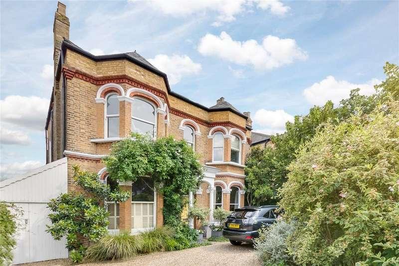 5 Bedrooms Detached House for sale in Castelnau, Barnes, London