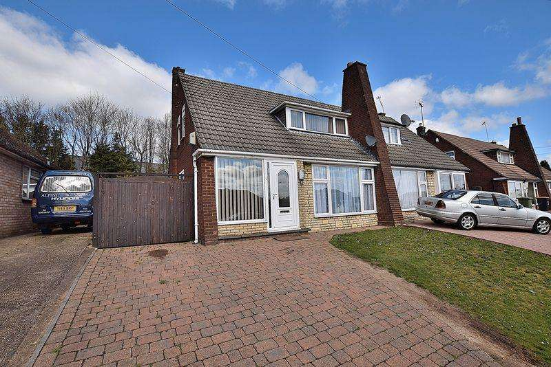 2 Bedrooms Semi Detached House for sale in HUGE rear garden, GARAGE, 26' living area...