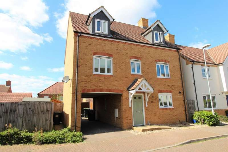5 Bedrooms Detached House for sale in Garfield, Langford, Biggleswade, SG18
