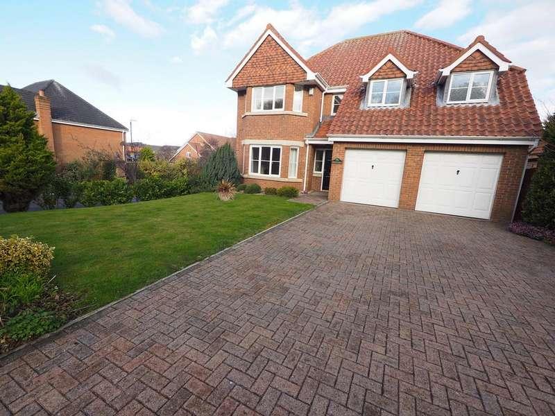 4 Bedrooms Detached House for sale in Monkton Rise, Guisborough