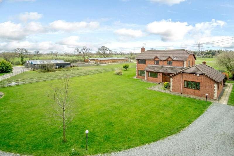 5 Bedrooms Detached House for sale in Capenhurst, Chester, Cheshire