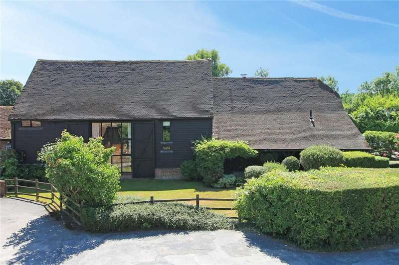 5 Bedrooms Semi Detached House for sale in Moat Farm, Powder Mill Lane, LEIGH, Kent, TN11