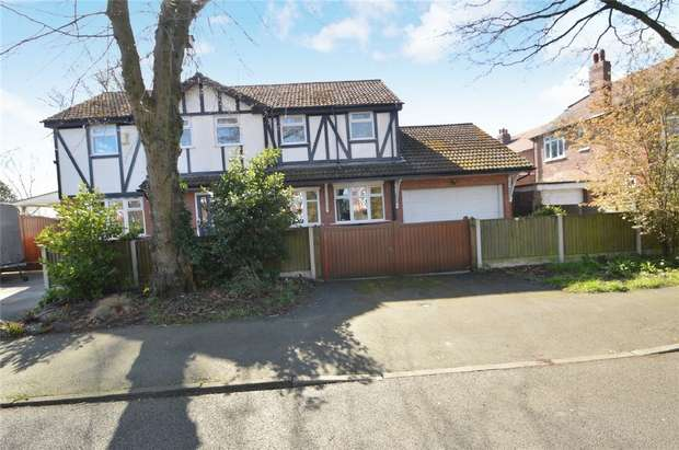 4 Bedrooms Detached House for sale in Tudor Lodge, Charlestown Road West, Davenport, Stockport, Cheshire