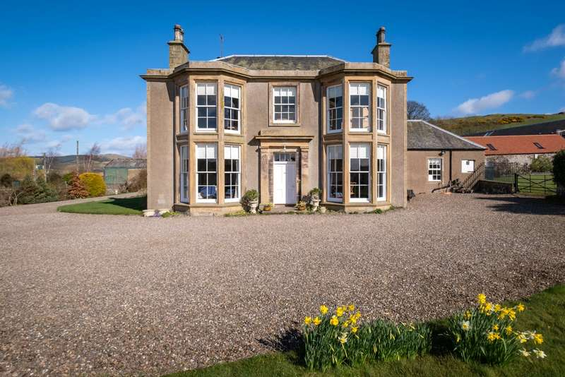 6 Bedrooms Equestrian Facility Character Property for sale in Lindifferon House, Near Letham, Cupar, Fife, KY15