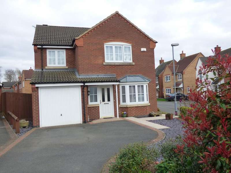 4 Bedrooms Detached House for sale in Piccard Drive, Spalding