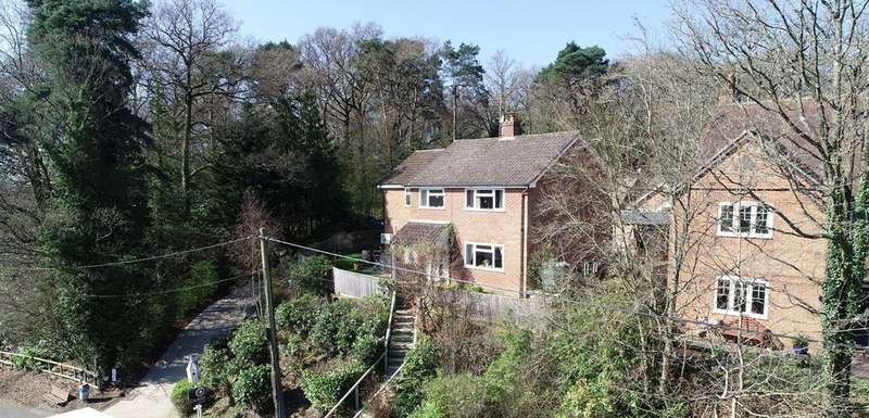4 Bedrooms Detached House for sale in Hampstead Norreys Road, Hermitage, Thatcham, RG18