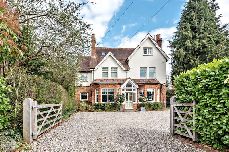 5 Bedrooms Detached House for sale in St Peter's Hill, Caversham Heights, Reading