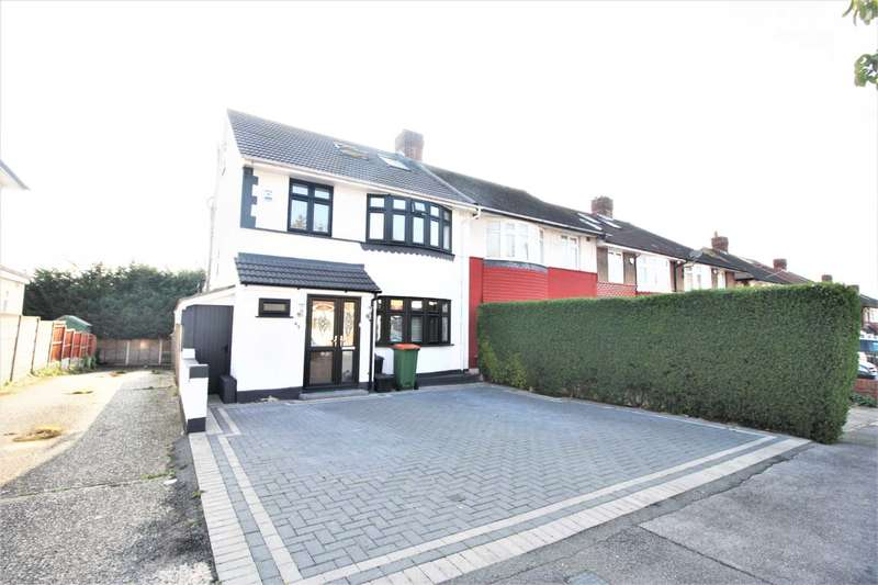 4 Bedrooms End Of Terrace House for sale in Torquay Gardens, Redbridge, IG4