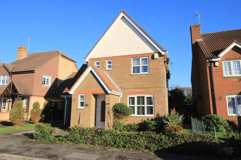 3 Bedrooms Detached House for sale in Danvers Drive, Barton Hills, Luton, LU3