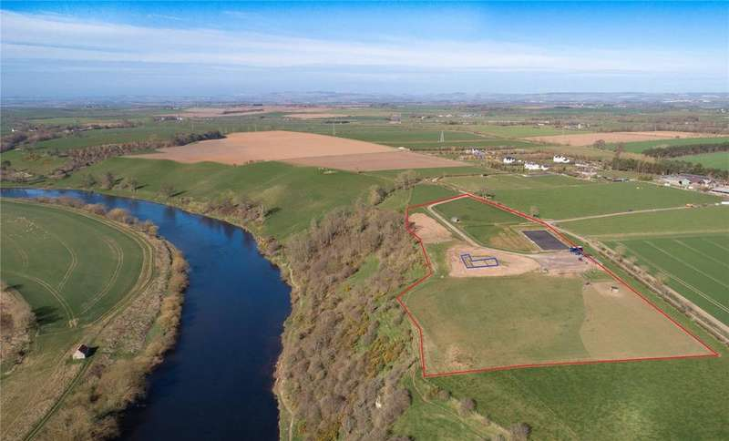 Equestrian Facility Character Property for sale in The Mansion House Site, Fishwick Mains, Near Paxton, Berwickshire, Scottish Borders