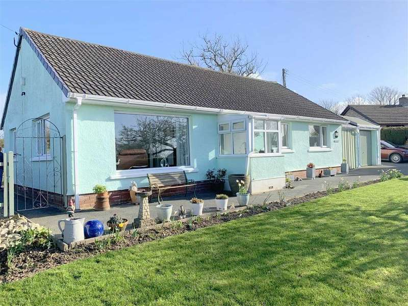 3 Bedrooms Detached Bungalow for sale in Maenygroes, New Quay, Ceredigion