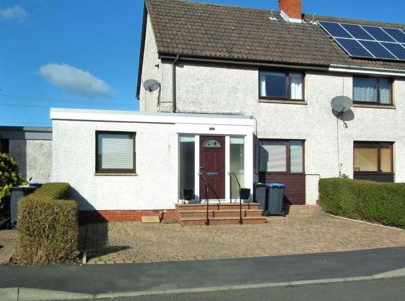 3 Bedrooms Terraced House for sale in 35 Lawfield Drive, Ayton TD14 5QU