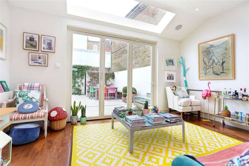 5 Bedrooms End Of Terrace House for sale in Fulham Park Gardens, Fulham, London, SW6