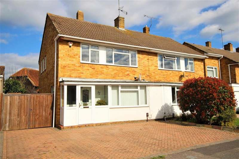 3 Bedrooms Semi Detached House for sale in Wilmington Close, Woodley, Reading