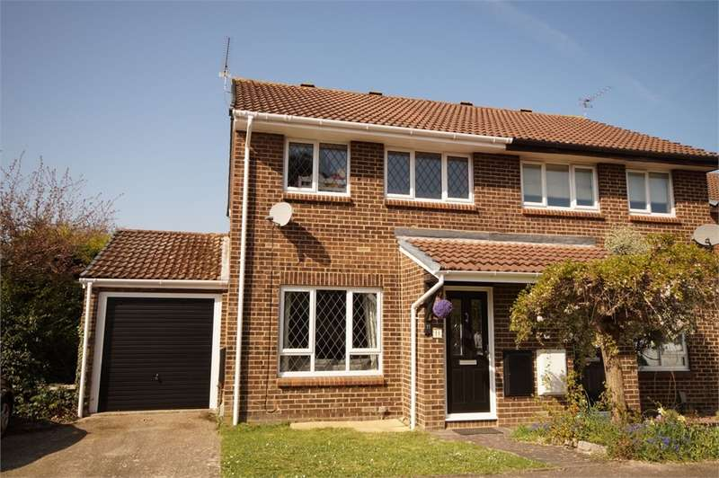 3 Bedrooms Semi Detached House for sale in Wispington Close, Lower Earley, READING, Berkshire