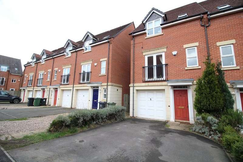 3 Bedrooms End Of Terrace House for sale in Clumber Close, Loughborough