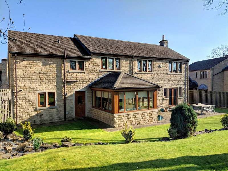 5 Bedrooms Detached House for sale in Park Drive, Mirfield, West Yorkshire, WF14