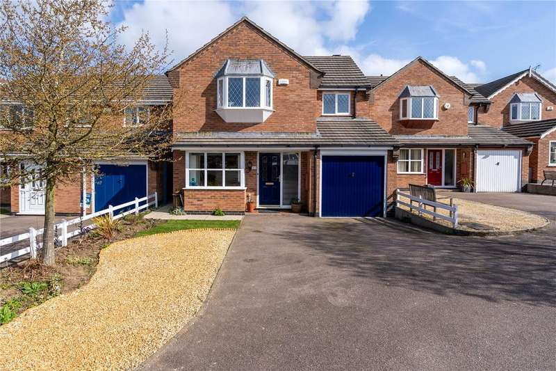 4 Bedrooms Detached House for sale in Geveze Way, Broughton Astley, Leicester, Leicestershire, LE9