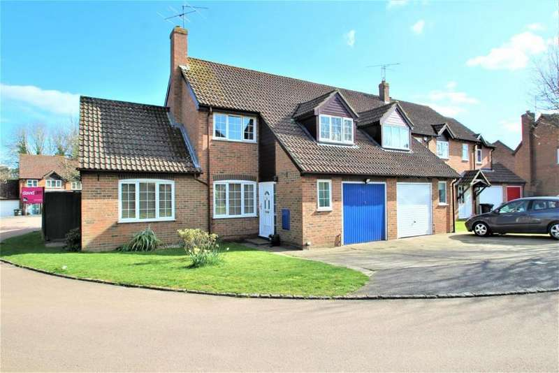 3 Bedrooms Semi Detached House for sale in St. Marys Way, Burghfield Common, RG7
