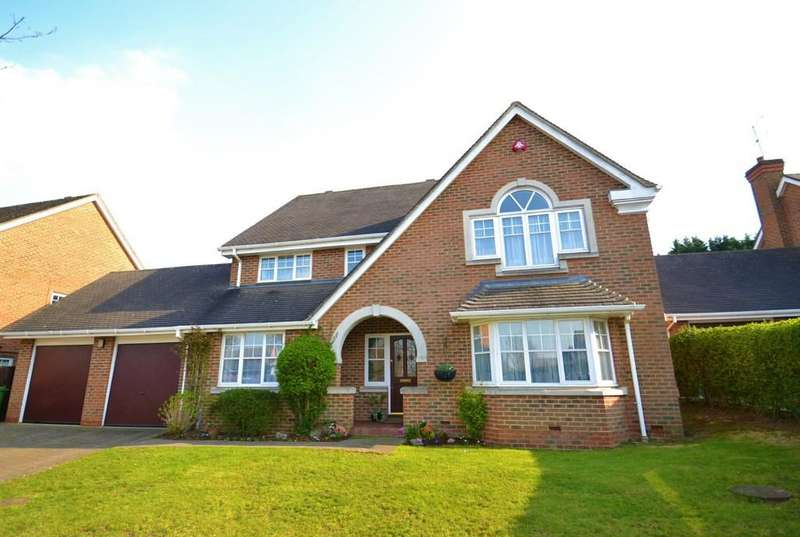 5 Bedrooms Detached House for sale in Blattner Close, Elstree