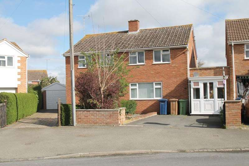 3 Bedrooms Semi Detached House for sale in Stanton Road, Mitton, Tewkesbury