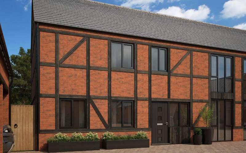 4 Bedrooms Semi Detached House for sale in Plot 18 The Crofton, The Orchard, Norton