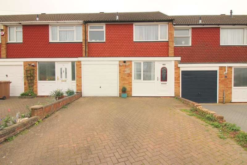 3 Bedrooms Terraced House for sale in Kinross Crescent, Luton, Bedfordshire, LU3 3JS
