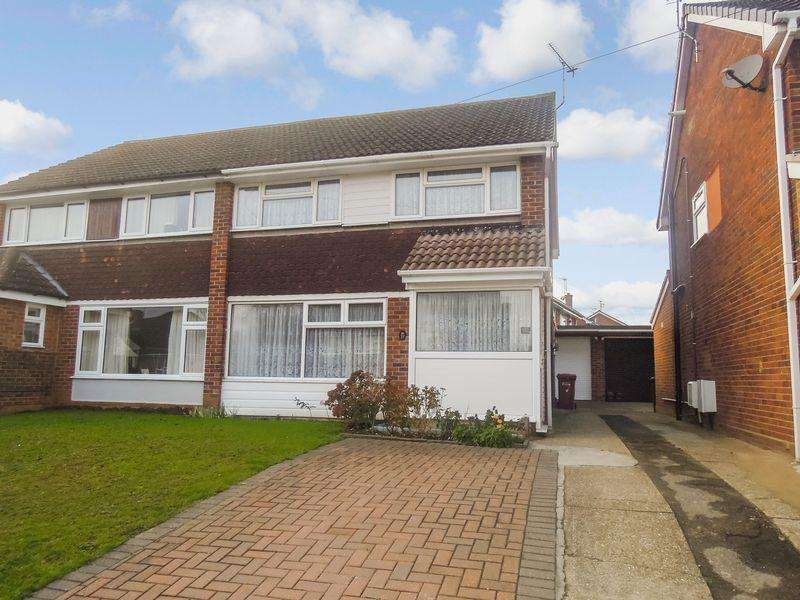 3 Bedrooms Semi Detached House for sale in Off Langley Road