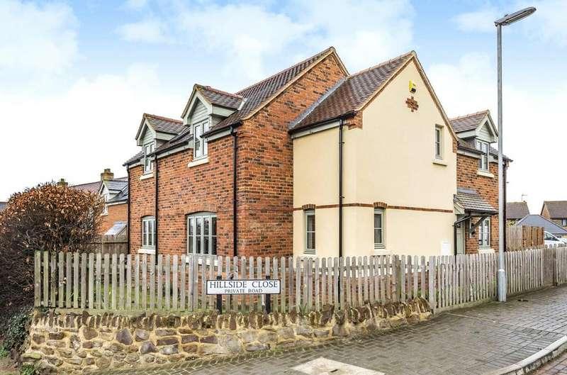 3 Bedrooms Detached House for sale in Hillside Close, Harlington, Dunstable, Bedfordshire, LU5
