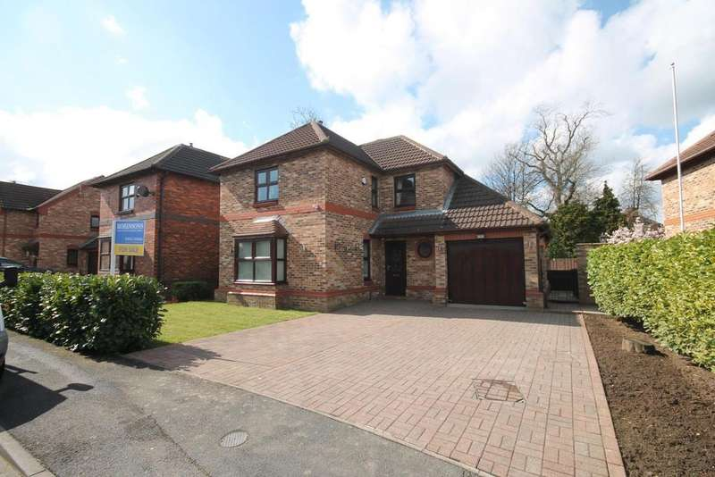 4 Bedrooms Detached House for sale in Abbey Court, Normanby, Middlesbrough