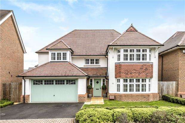 4 Bedrooms Detached House for sale in Kingfisher Chase, Bracknell, Berkshire