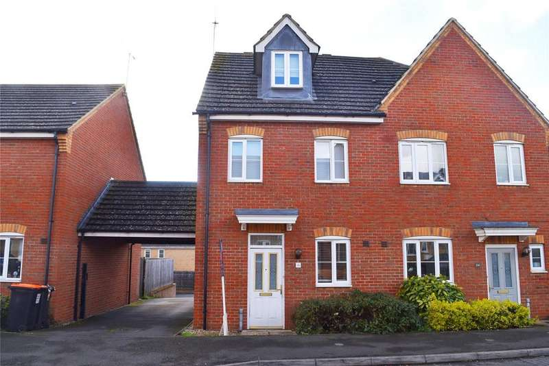 3 Bedrooms Semi Detached House for sale in Cooper Drive, Leighton Buzzard
