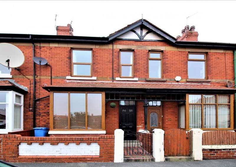 3 Bedrooms Terraced House for sale in Tennyson Road, Fleetwood, FY7