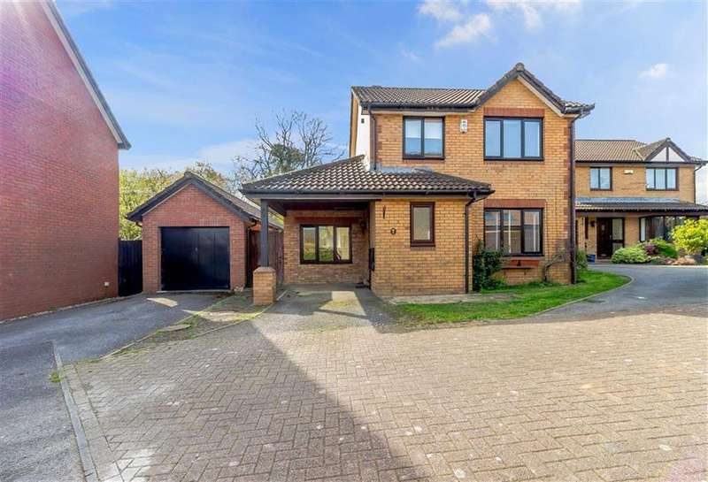 3 Bedrooms Detached House for sale in Grasmere Way, Chepstow, Monmouthshire
