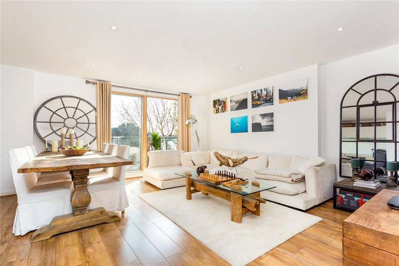 2 Bedrooms Flat for sale in Wingate Square, Clapham Common, London, SW4