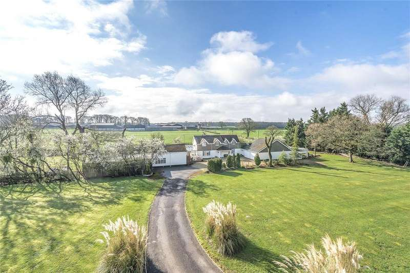 5 Bedrooms Detached House for sale in Lower Buryhill Farm, Braydon, SN5