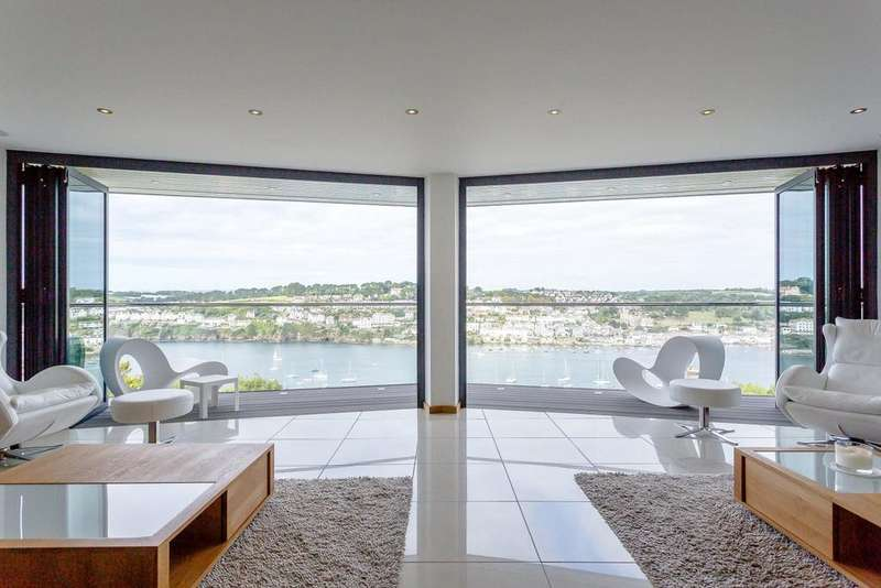 5 Bedrooms Detached House for sale in Meadow Close, Polruan, Fowey, Cornwall