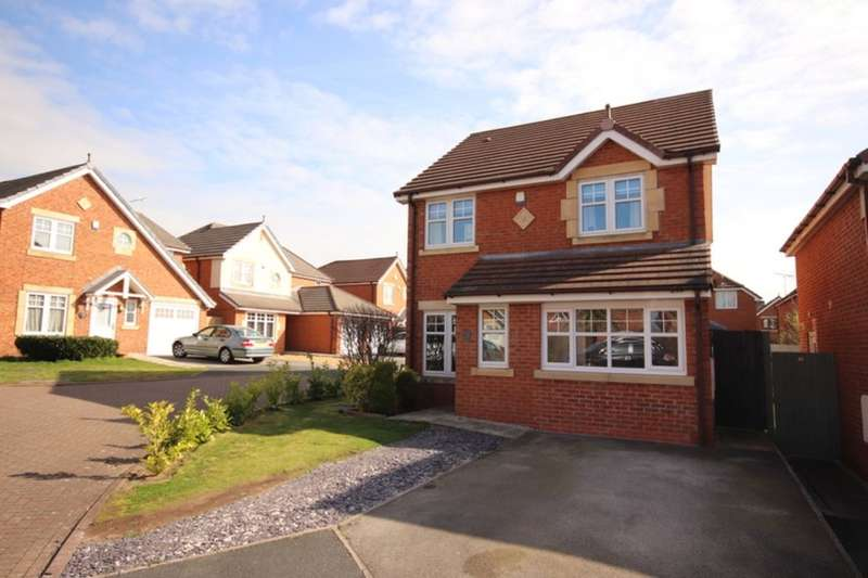 3 Bedrooms Detached House for sale in Kidston Drive, Crewe, CW1