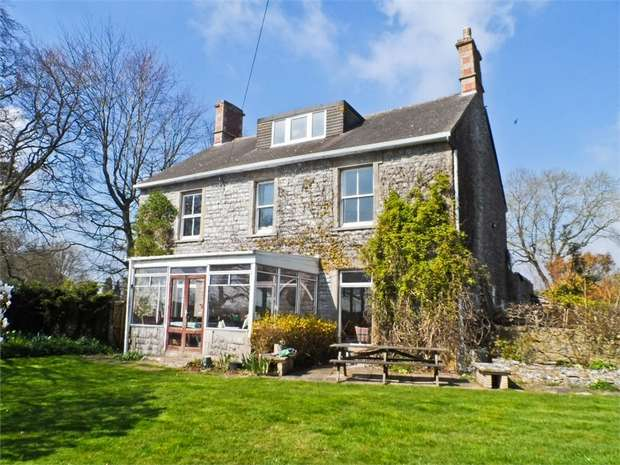 4 Bedrooms Detached House for sale in Shapway Lane, Stoney Stratton, SHEPTON MALLET, Somerset