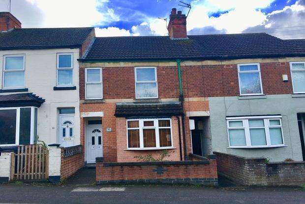 2 Bedrooms Terraced House for sale in Asfordby Road, Melton Mowbray, LE13
