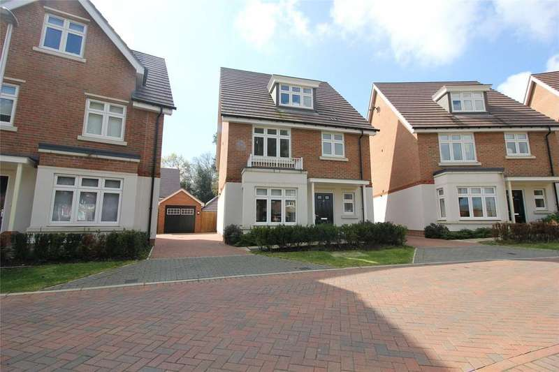 4 Bedrooms Detached House for sale in Tutor Crescent, Earley, Reading, Berkshire, RG6